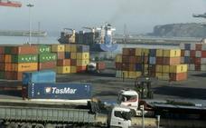 Las exportaciones vascas se recuperan en febrero, pero siguen lastradas por la automoción