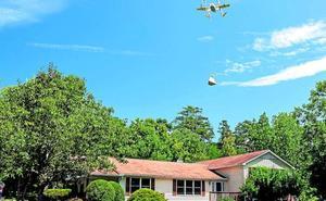 Estados Unidos aprueba por primera vez el uso drones para el reparto a domicilio
