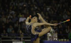 La gimnasia rítmica de élite regresa a Vitoria