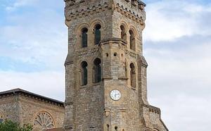 Un nuevo reloj dará la hora a los etxebarritarras desde la iglesia de San Esteban