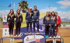 Las alavesas June y Zuriñe Viñegra se cuelgan la plata en el Campeonato Universitario de España