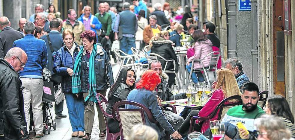 Bilbao quiere quitar terrazas de Pozas, Ledesma y Jardines después del verano