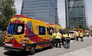 Detenido el presunto autor de la amenaza de bomba en el edificio Torre Espacio de Madrid