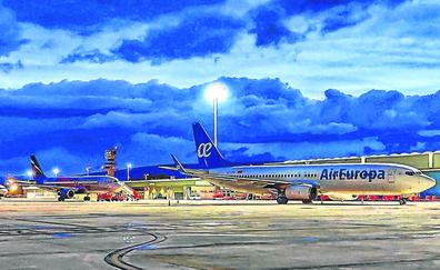 Foronda moverá 4.000 pasajeros en su primera 'operación salida' abierto 24 horas