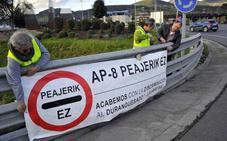 AP-8 Peajerik Ez pide la exención del pago cuando se haga el viaje de ida y vuelta en el día