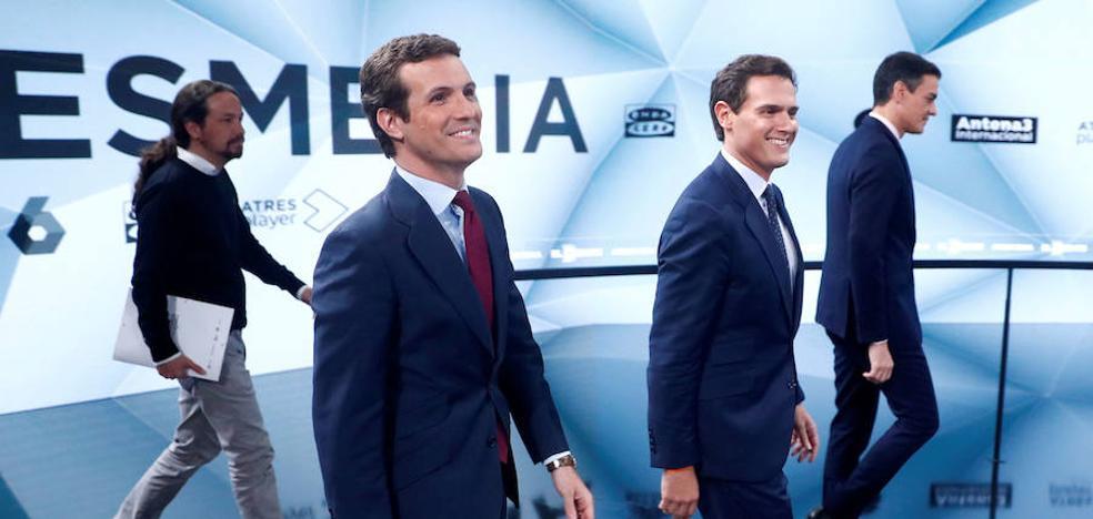Políticos en televisión