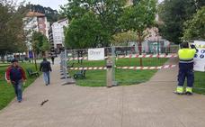 Bermeo tendrá lista para verano su primera zona de juego cubierta en el parque Erreten