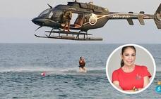 El salto 'flamenco' de Isabel Pantoja desde el helicóptero en 'Supervivientes'