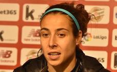 Ainhoa Tirapu: «No nos han dejado jugar demasiado»