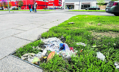 Vitoria pide civismo para mejorar la limpieza