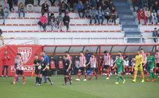 El Bilbao Athletic se despide del playoff y pierde a Guruzeta y Vivian