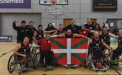 El Bidaideak hace historia en la Euroliga de basket en silla de ruedas