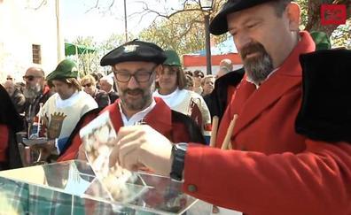 Caracoles, perretxikos, talo o rosquillas: el voto gastronómico por San Prudencio