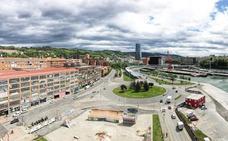 Costas frena el plan para urbanizar la rotonda entre el Euskalduna y el IMQ