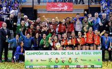 El Bera Bera arrolla al Valladolid y suma su sexta Copa