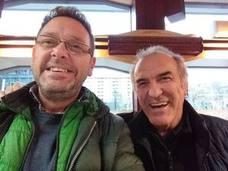 Gontzal Mendibil e Iñaki García Uribe llegan el sábado a Artziniega