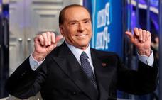 Berlusconi, hospitalizado en Milán