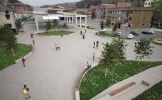 La reforma integral de la plaza Euskadi de Zalla incluirá una cubierta de 1.200 metros cuadrados