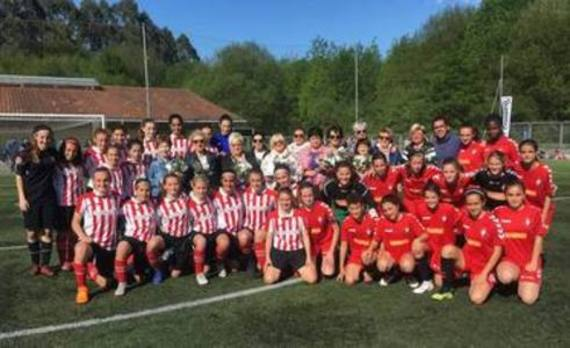Las canteranas de Osasuna doblegan al Athletic en Amorebieta