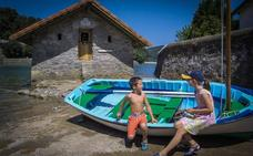 Busturia recuperará la actividad didáctica del antiguo vivero de mariscos de Itxasbegi