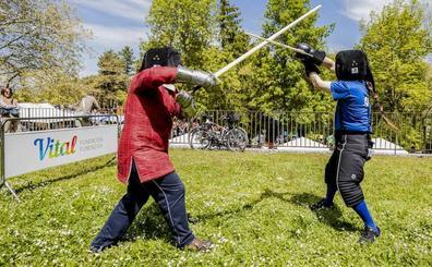 La Feria de Estíbaliz recupera sus espadas