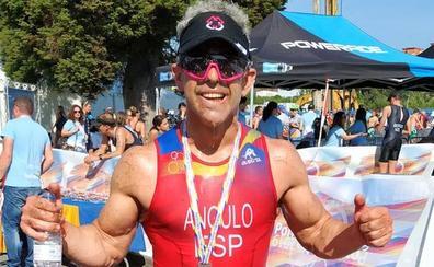Un nuevo éxito de Bernabé Angulo, el triatleta que compite sin peronés