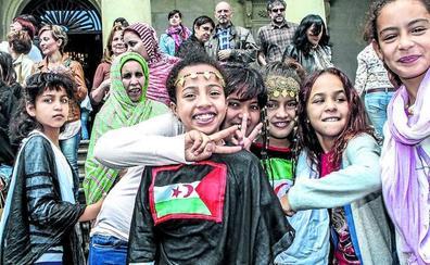 47 familias alavesas acogerán a niños saharauis durante el verano