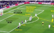 El disparo magistral de Messi contra el Liverpool