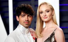 Joe Jonas se casa con la actriz de 'Juego de tronos' Sophie Turner