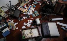 Las fuerzas chavistas saquean la casa de Leopoldo López
