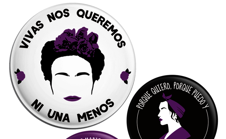 Las camisetas feministas que triunfan en Bilbao