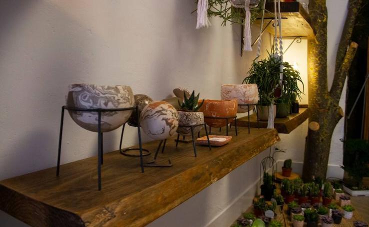 Las flores, el arte y el diseño local se fusionan en un nuevo espacio de Algorta
