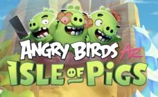 Los Angry Birds invaden tu salón gracias a la realidad aumentada