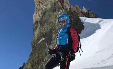 La esquiadora de montaña que nació junto al mar