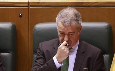 Urkullu pide a Bildu y Podemos que dejen de pactar con el PP «contra» el Gobierno