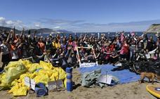 Marea humana contra la basura en Arrigunaga