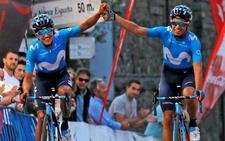 Landa no acaba la Vuelta a Asturias por molestias en una uña del pie