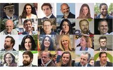 Los 24 diputados de Vox en el Congreso
