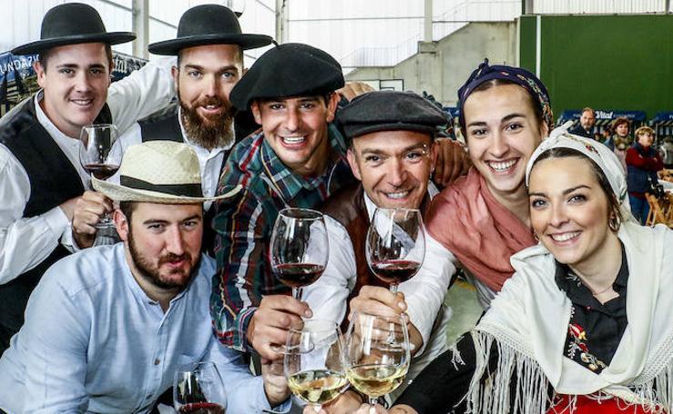 Un brindis por Rioja Alavesa y Portugal