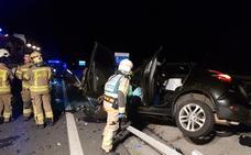 Fallece un hombre de 54 años en una colisión múltiple en la A-8 a la altura de Muskiz