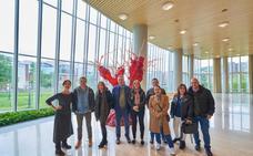Suscriptores ON+ disfrutan de unas visitas guiadas a la Torre Iberdrola y al sifón de Deusto