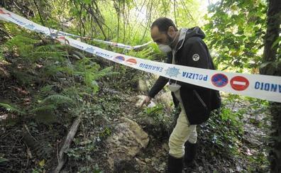 Hallan lindane vertido hace más de 30 años en el viejo basurero de Bilbao