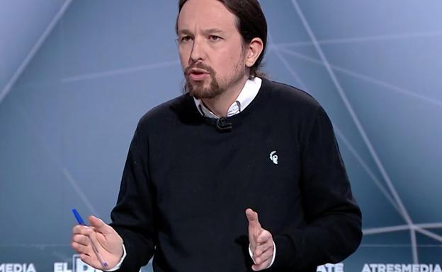 ee4cc15b Pablo Iglesias luce el jersey de la firma durante el último debate  electoral.