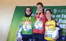 Raquel Gómez, subcampeona de España de trail en Castellón