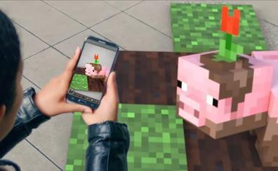 'Minecraft' se pasará en móviles a la realidad aumentada al estilo de 'Pokemon Go'