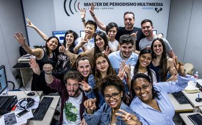 Jornada de puertas abiertas en el Máster de Periodismo de El CORREO y la UPV/EHU