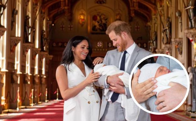 El príncipe Enrique y Meghan presentan a su hijo en Windsor