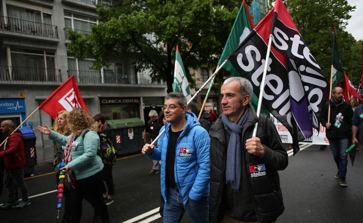 Trabajadores de la enseñanza concertada se manifiestan en Bilbao