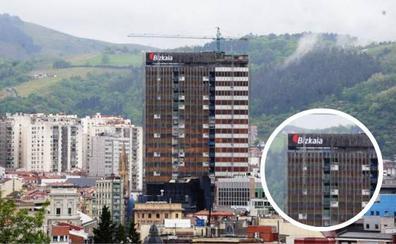 La torre del BBVA ya es la Torre Bizkaia
