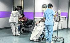 Salud vigila a pacientes de Urgencias por un caso de sarampión en Álava